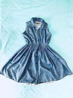 Kids cute sunday dress or summer dress for 4 to 6 yrs old.