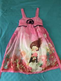 Kids sunday dress, party dress or summer dress