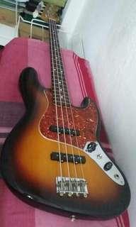 Fender Jazz Bass Mexico 60th Annivesary