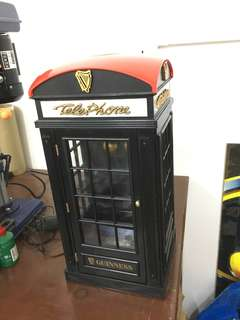 Rare Vintage Telephone booth Radio Cassette Player