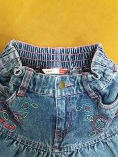 Prelove ank,skirt poney size 4-5y