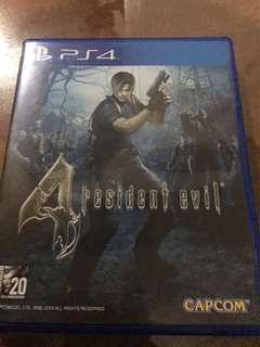 Resident Evil 4 for PS4 (Playstation 4)