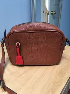 JCrew Signet Bag Leather Brown