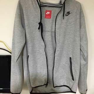 Nike淺灰色運動外套