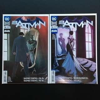 Batman #44 CVR A & B NM