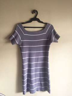Bodycon Dress Gray