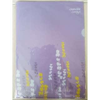 BN Sealed Lavender L shape A4 file