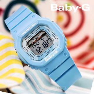 NEW 🌟ARRIVAL BABYG DIVER CASIO SPORTS WATCH : 1-YEAR OFFICIAL WARRANTY: 100% ORIGINALLY AUTHENTIC BABY-G SHOCK-RESISTANT in OCEAN BLUE BEST FOR MOST SPORTS ROUGH USERS & UNISEX: BLX-560-2DR / BLX560 / DW5600 / BA-110 / DW-5600 / G-LIDE