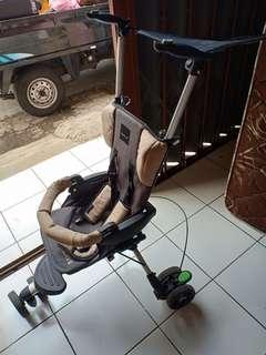 Stroller baby elle wave