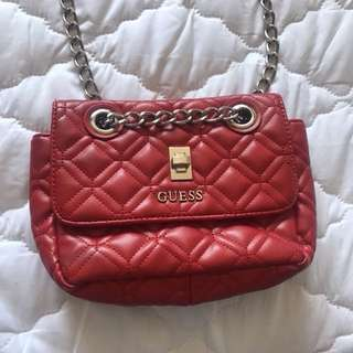 Red Guess Bag