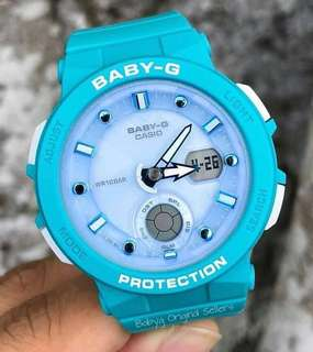 NEW 🌟ARRIVAL BABYG DIVER CASIO SPORTS WATCH : 1-YEAR OFFICIAL WARRANTY: 100% ORIGINALLY AUTHENTIC BABY-G SHOCK-RESISTANT in OCEAN BLUE & BEST FOR MOST SPORTS ROUGH USERS: BGA-250-2ADR / BGA-150CP / BA-110CP / BA-110 / BA110