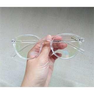 Moscot Optical Transparent