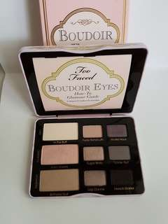 Too Faced Boudoir Eyes eyeshadow palettes
