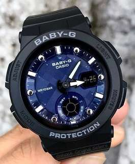NEW 🌟ARRIVAL BABYG DIVER CASIO SPORTS WATCH : 1-YEAR OFFICIAL WARRANTY: 100% ORIGINALLY AUTHENTIC BABY-G SHOCK RESISTANT in BLACK-FOREST & BEST FOR MOST ROUGH USERS: BGA-250-1ADR / BGA-150CP / BA-110CP / BA-110 / BA110