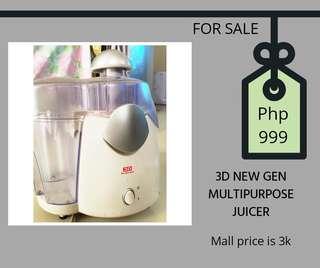 3D Next Gen Juicer