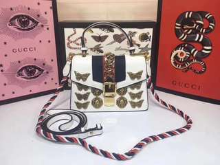 Gucci Sylvie Animal Studs