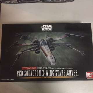 Bandai Star Wars Red Squadron X-Wing Starfighter