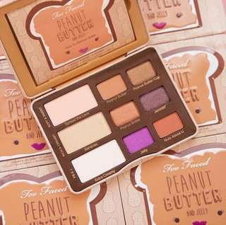 100% BRAND NEW ORI TOO FACED PEANUT BUTTER AND JELLY EYESHADOW PALETTE
