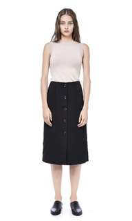 The Editor's Market - Alvyna's Button down Skirt