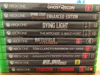 Xbox one bundle of games