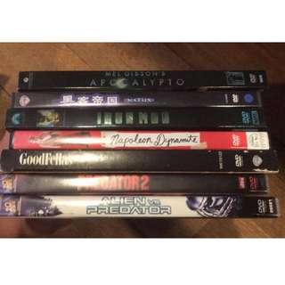 Movies DVD Assortment Films Local International Classic Blockbuster Hollywood Part 1