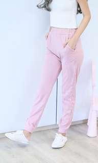 Sweet pastel pink pants