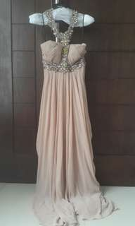 Gown cokelat ex BCL