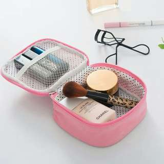 Cosmetic pouch cable pouch