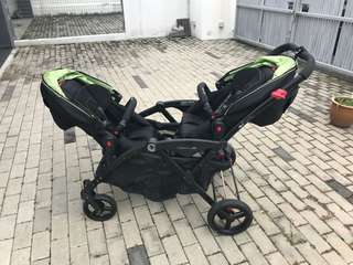 Tandem Stroller Contours Option Elite