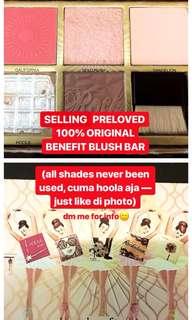 benefit blush bar