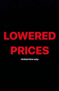 LOWERED PRICES