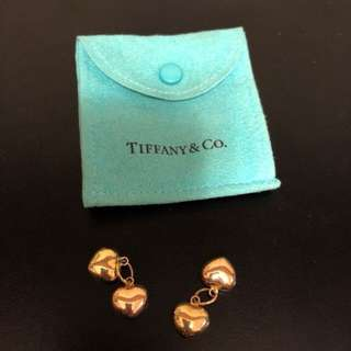 Tiffany & Co. Gold Heart Pendants
