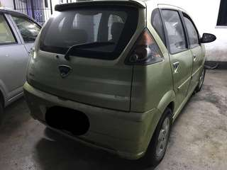 Naza sutra body with rims and tyres