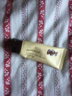 Innisfree jeju volcanic color clay mask (YELLOW-LIGHTENING)