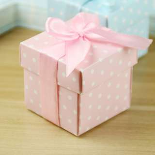 25 Pieces Pink Box with Ribbon