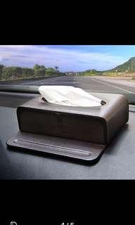 Car Tissue Box/Phone Stand
