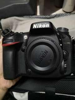 Nikon D7100 body & lense