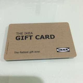 IKEA gift card with $495 credit
