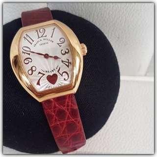 Franck Muller Heart Rose Gold Ladies Size