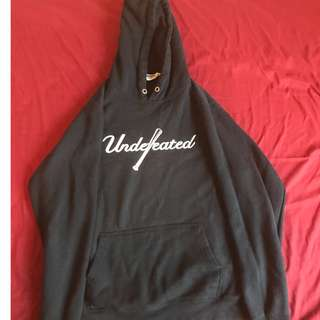 Undefeated hoodie sz:m