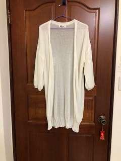 🚚 米白針織罩衫