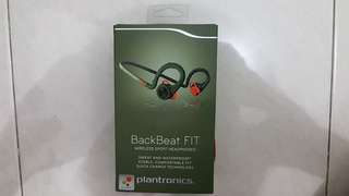 Bluetooth Headset Plantronics BackBeat FIT - Stealth Green