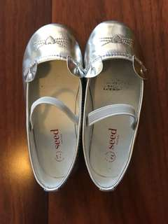 Seed Silver Cat Shoes - Size 24