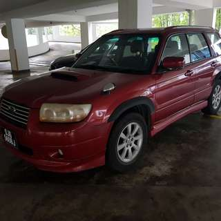 Subaru Forester 2.5A turbo