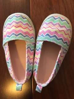 HnM Girl Rainbow Flat Shoes - Size 24