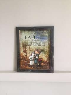 Sheepography Photo Frame (Christian Faith)