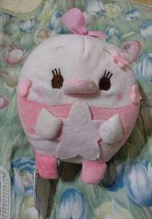 雲朵娃娃 粉紅豬 櫻花版 吊飾 吸盤