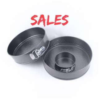 Spring Form Pan Clearance - Limited to last 3pcs