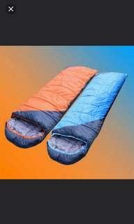 (2件/2pieces) 保暖秋冬季加厚睡袋戶外露營成人可拼接睡袋超輕純棉午休睡袋1.5kg款 (廈輕推廣系列) (包Buyup自取站取貨) (sleeping bag)