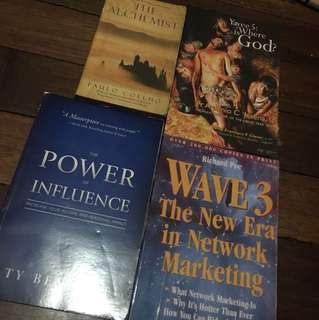 Assorted books SALE